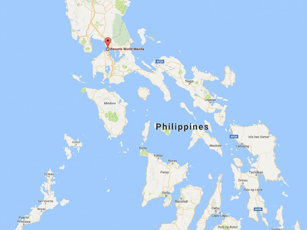 Manila Philippines World Map.Police Respond To Resorts World Manila In Philippines Serious