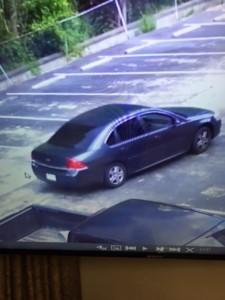 RCSD Suspects Car