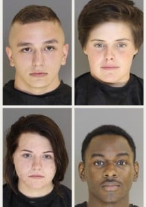 Columbia Sc Wolo Four Active Duty Personnel At Shaw Air Force Base Have Been Arrested And Accused Of Spraying Satanic Graffiti On A Historic Church
