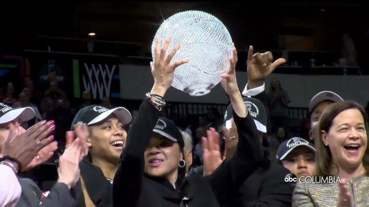 SC  women's team a No. 2 seed in NCAAs