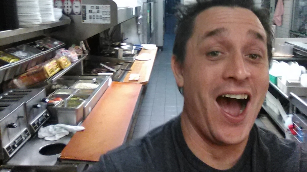 Drunk Man DIY's a Sandwich While Waffle House Staff Snoozes