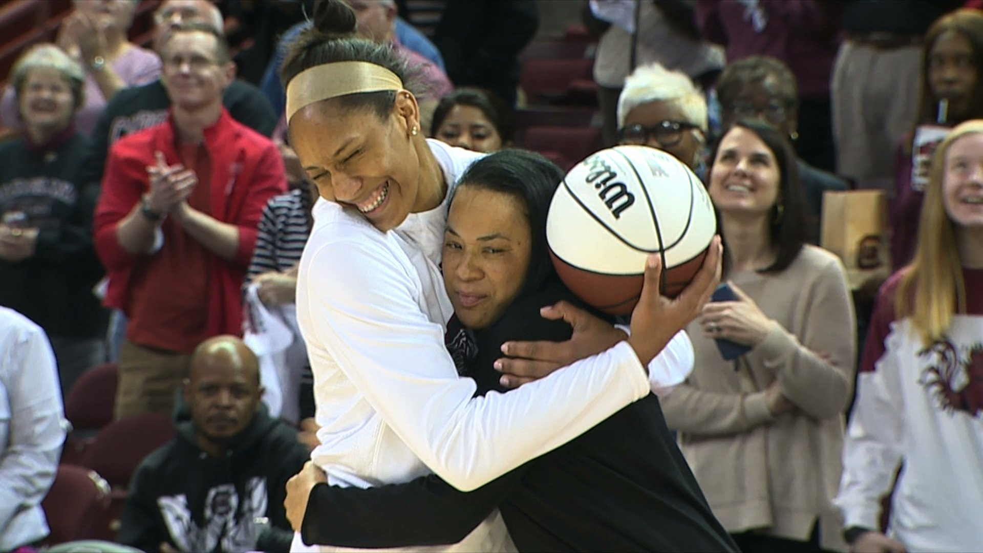 A ja Wilson named finalist for Citizen Naismith Player of the Year