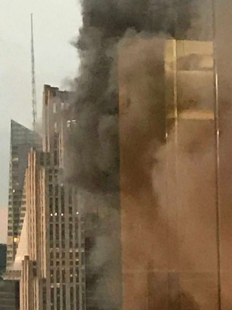 Fire reported on Trump Tower roof in NYC