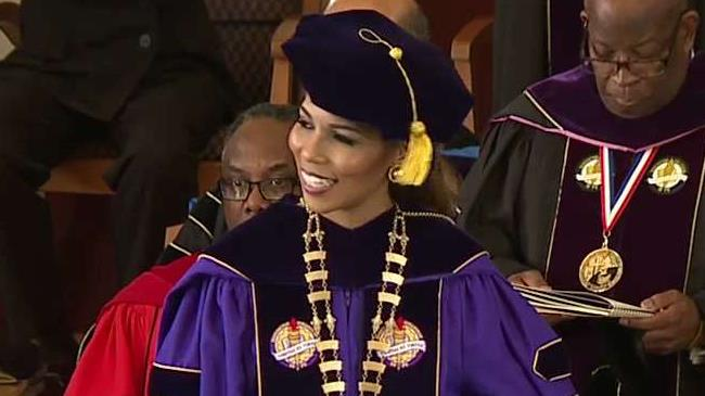 First Female President Inaugurated At Benedict College