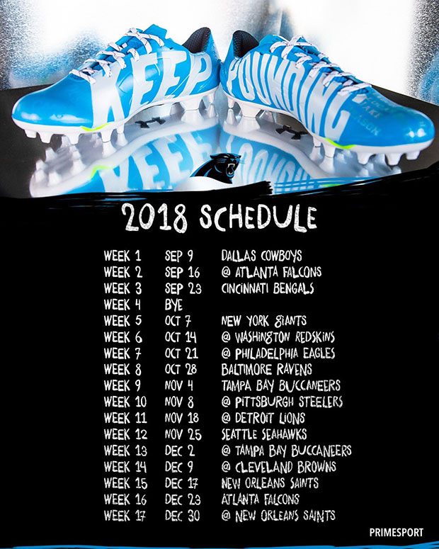 Panthers release 2018 schedule - ABC Columbia