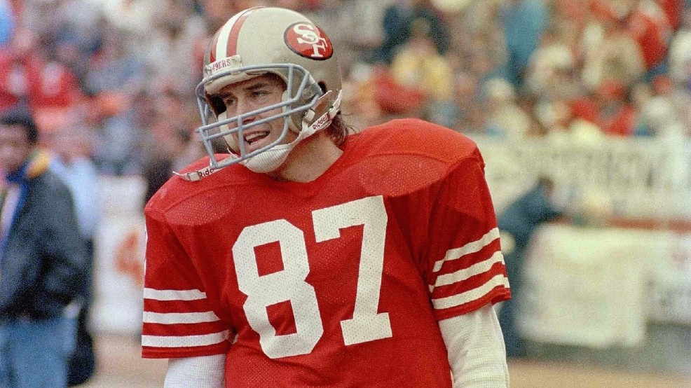 buy online 5326f 597eb Dabo comments on passing of Dwight Clark - ABC Columbia