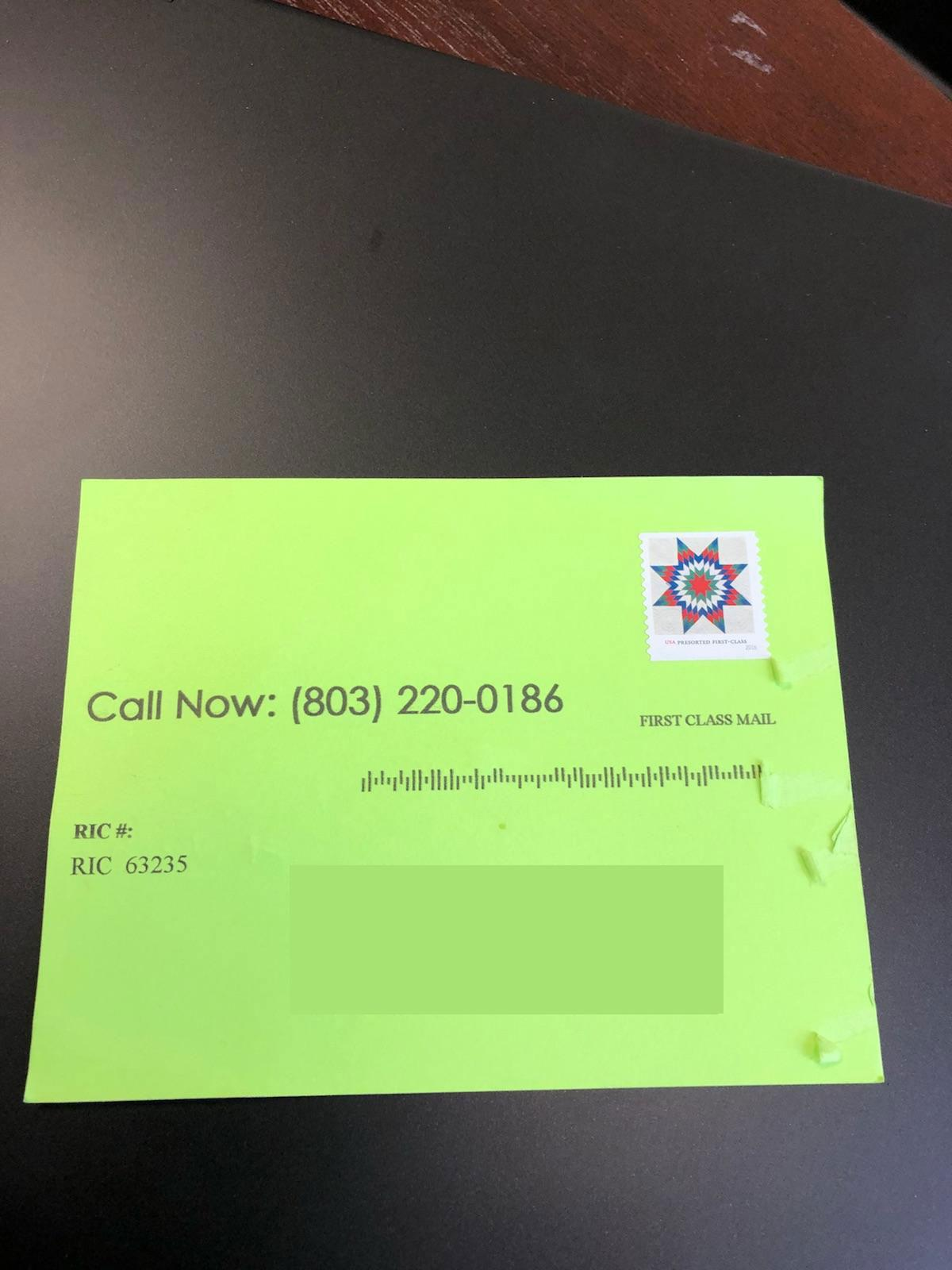 Columbia water warns residents of mailing scam