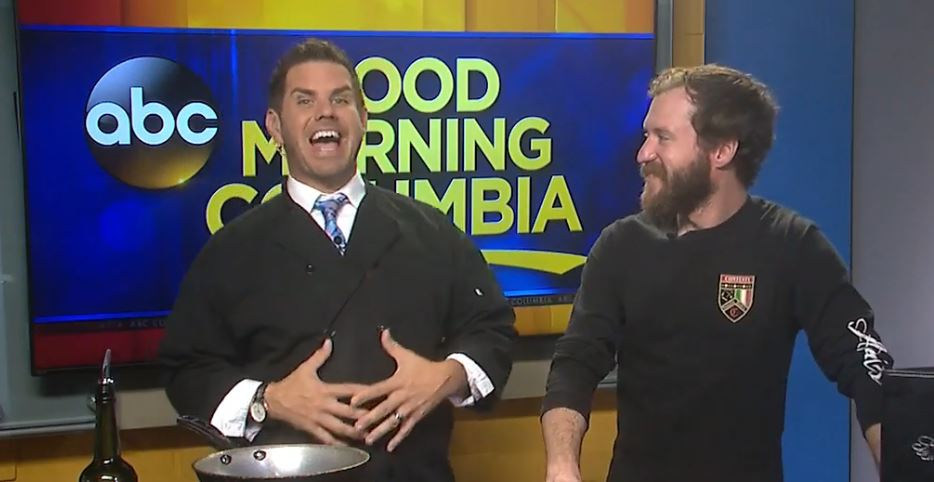 Gmc Columbia Sc >> Tyler Ryan learns a few secrets to awesome pasta sauce from Chef Will