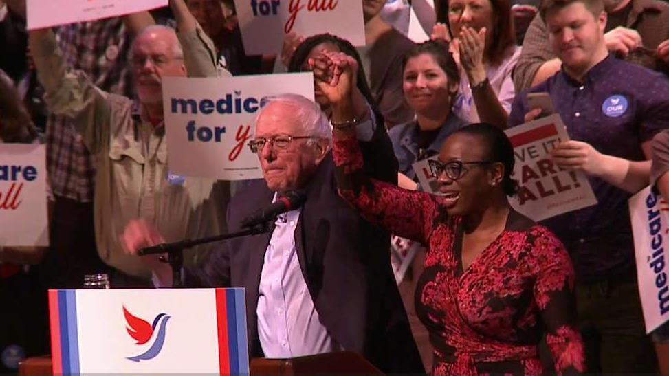 Bernie Sanders back in South Carolina amid multistate blitz