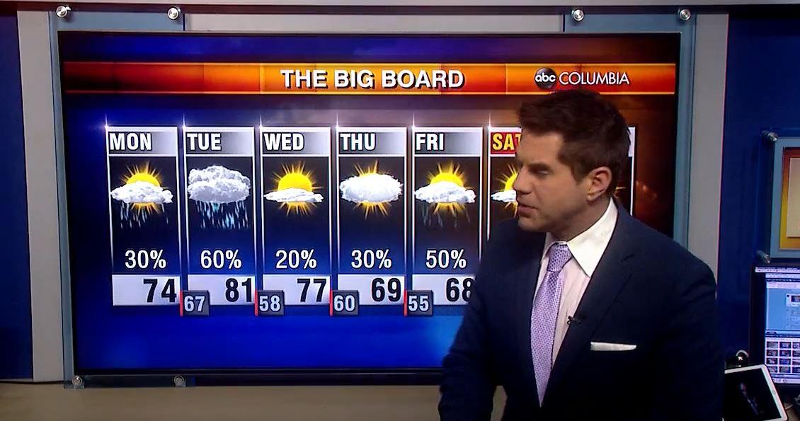 Tyler-Ryan-abc-columbia-iheart-weather-still - ABC Columbia