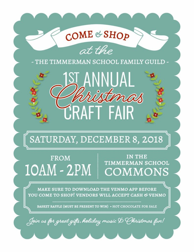 Craft Fair Flyer Abc Columbia