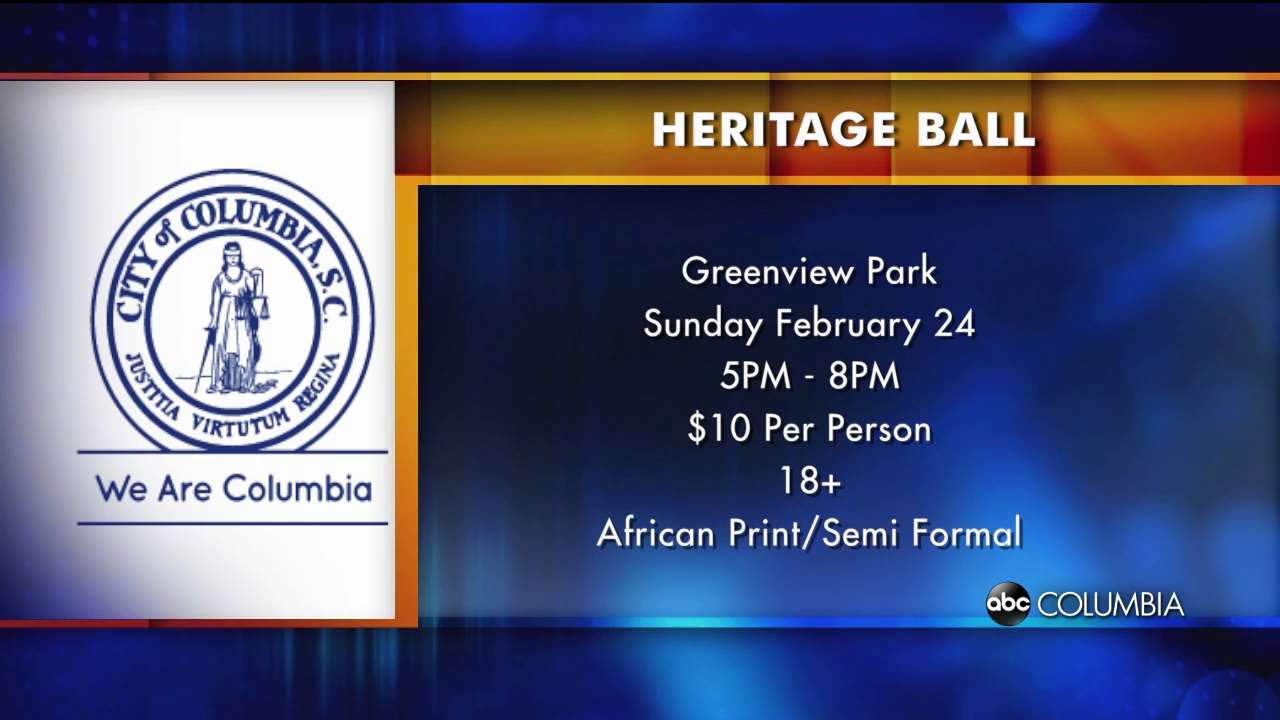 Black History Heritage Ball hosted by City of Columbia - ABC