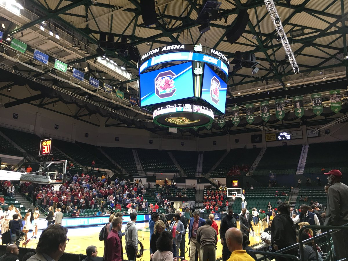 Gamecocks cruise past Belmont in first round win