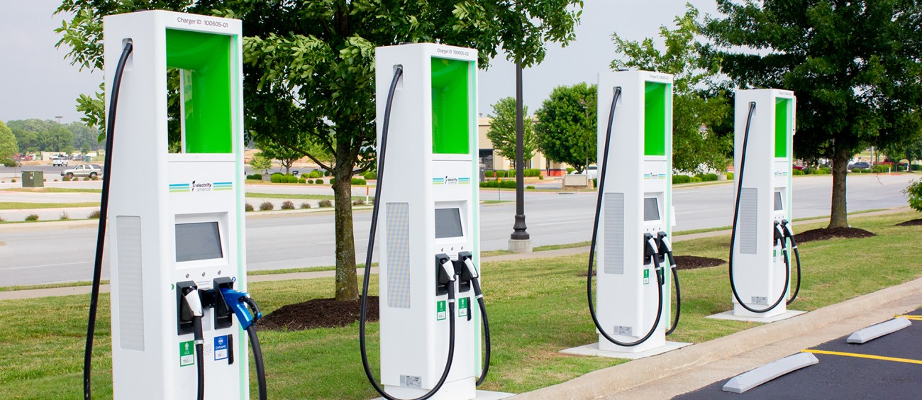 New Electric Car Charging Stations Installed At Midlands