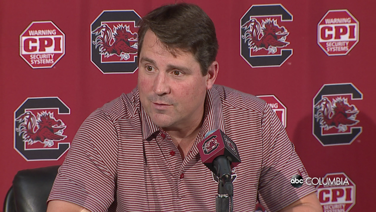 UofSC president walks back comment on Coach Muschamp's future - ABC Columbia