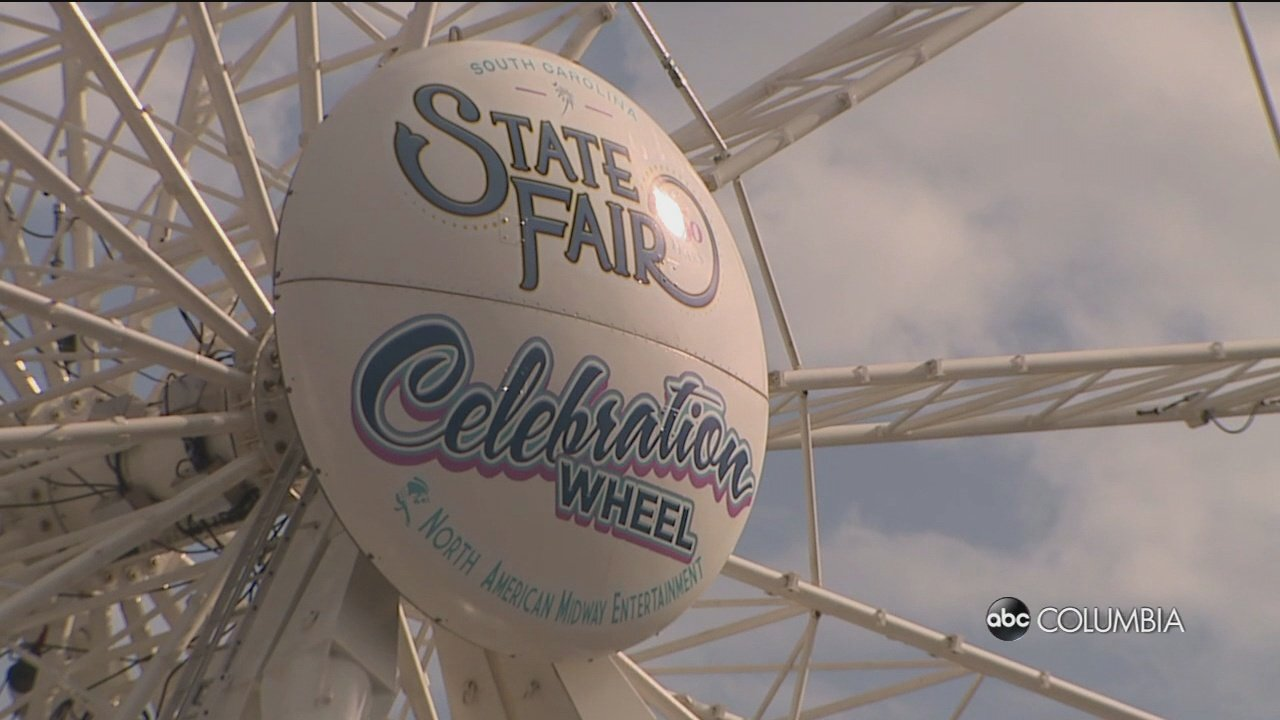 ABC Columbia takes to the sky in 150 foot high Ferris Wheel at Fair - ABC Columbia