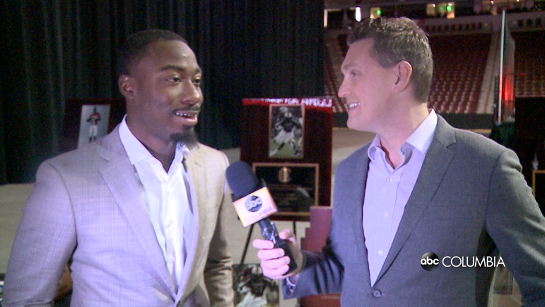WATCH: ABC Columbia goes one-on-one with Marcus Lattimore at SC Hall of Fame - ABC Columbia