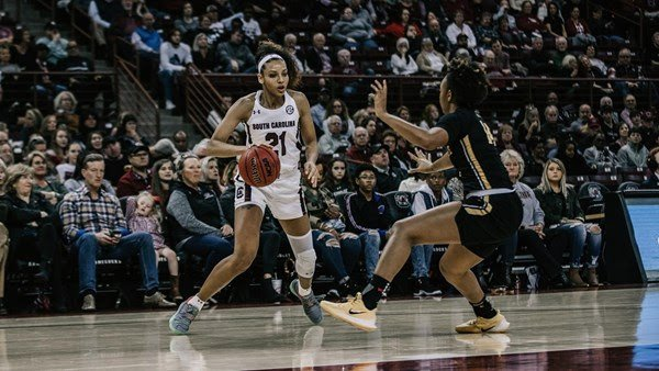 Gamecock Women S Basketball Downs App State 92 50 Abc Columbia