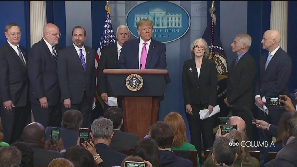 Pence To Lead Us Response To Coronavirus As Trump Urges Americans To Prepare