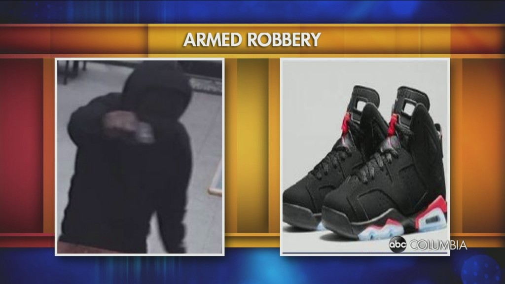 Suspect Wearing Air Jordan Retro 6s Wanted In Armed Robbery Of China City