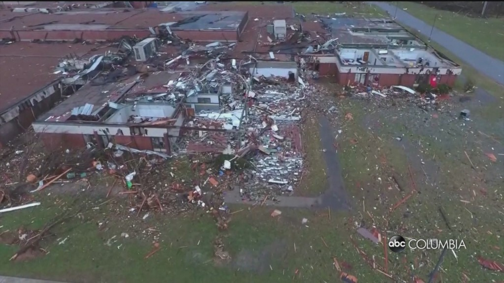 Death Toll Reaches 25 After Tornadoes Tore Through Tennessee