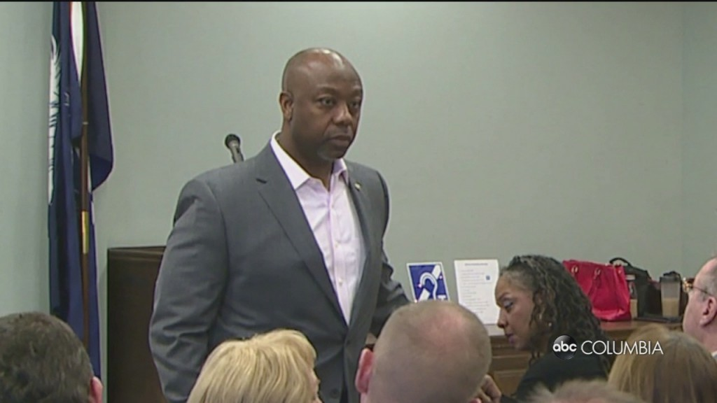 "Senator Tim Scott Worries A Relief Bill Could Have ""disastrous Effects"" On Sc"