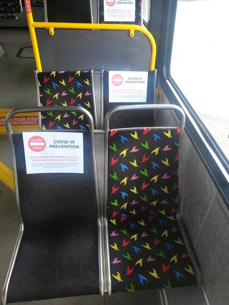 Bus 711 Covid 19 Prevention