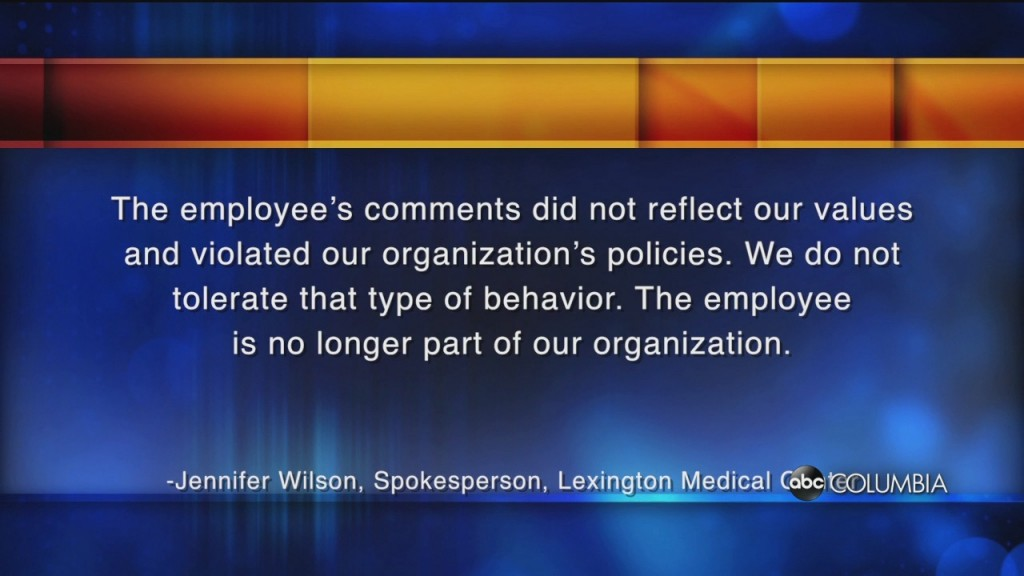 Lexington Medical Employee Fired After Racist Remark Regarding George Floyd's Death