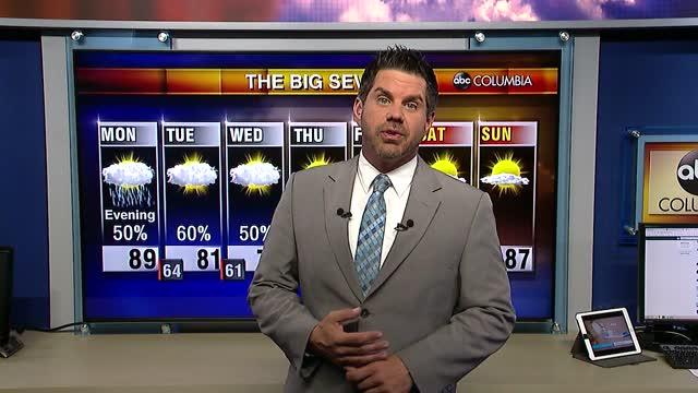 Tyler Ryan's Monday Weather