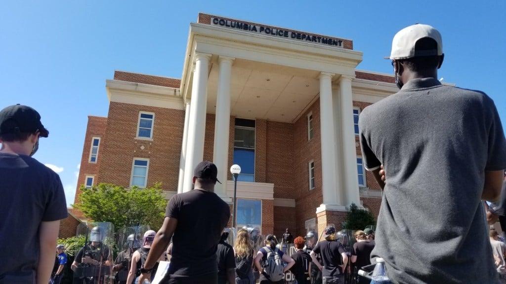 George Floyd Columbia Protest