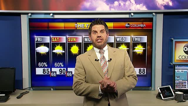 Tyler Ryan's Friday Weather