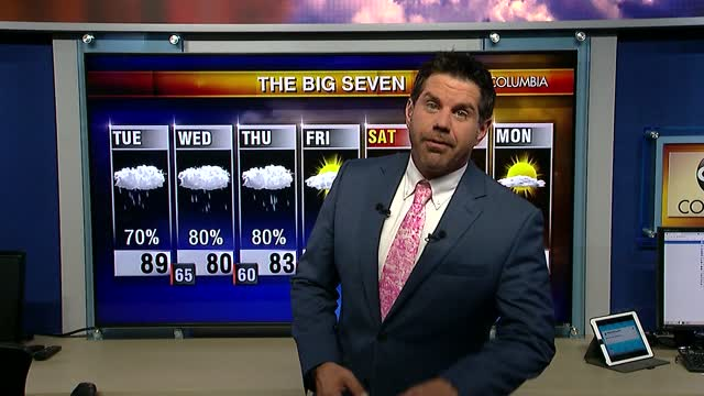 Tyler Ryan's Tuesday Morning Forecast