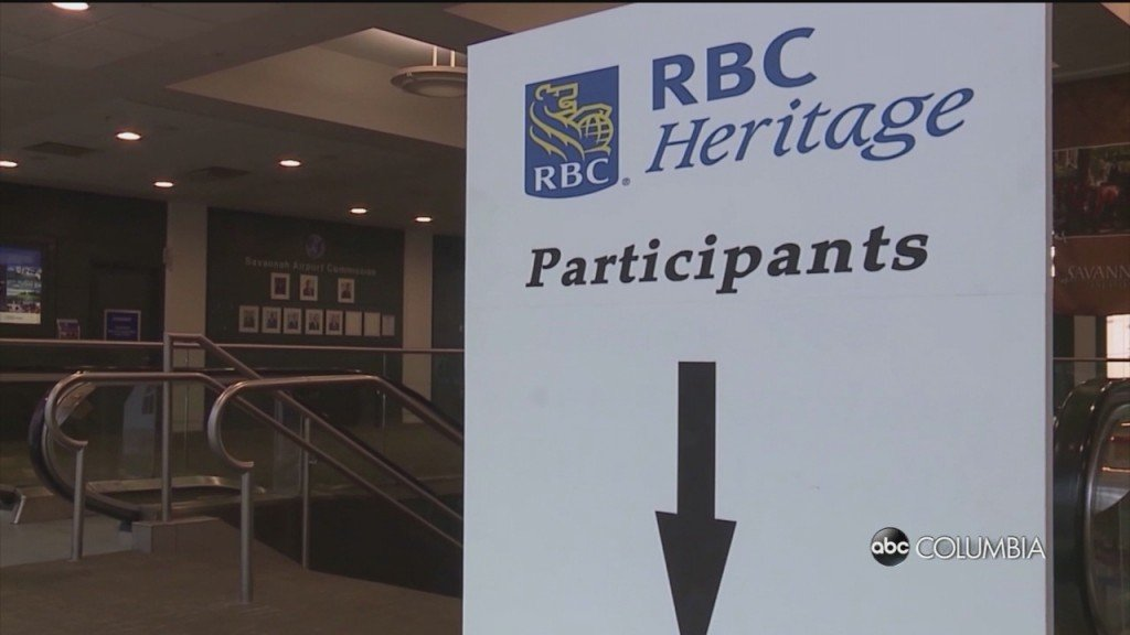 Pro Golfers Arrive In South Carolina Ahead Of Rbc Heritage