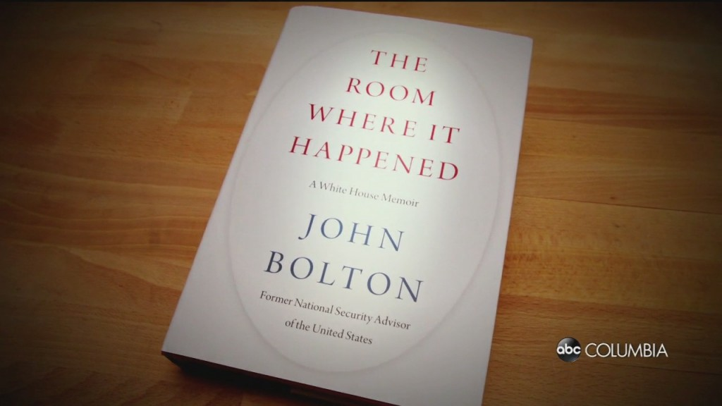 Trump Admin Reax To Bolton Book