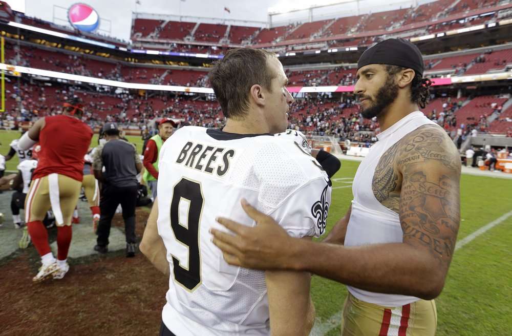 Brees Kaepernick