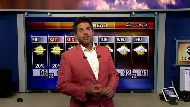 Tyler Ryans Friday Weather
