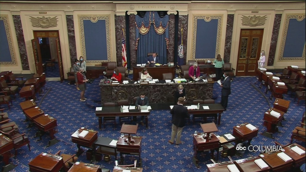 Lawmakers Overwhelmingly Vote To Limit Military Equipment Going To Police Departments