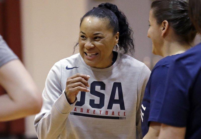 Dawn Staley Team Usa