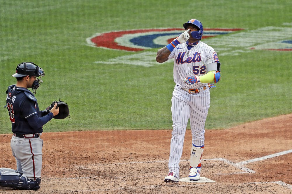 Mets Braves 2020 Opening Day Cespedes