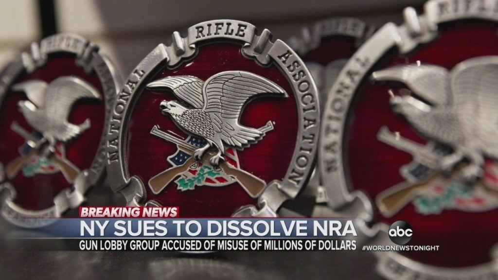 Nyc Sues To Dissolve Nra