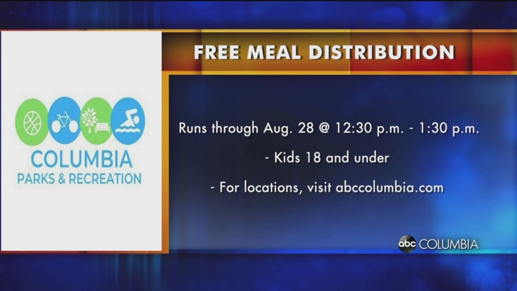 Parks And Rec Meal Distribution