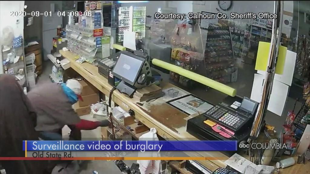 Calhoun Co. Store Burglary