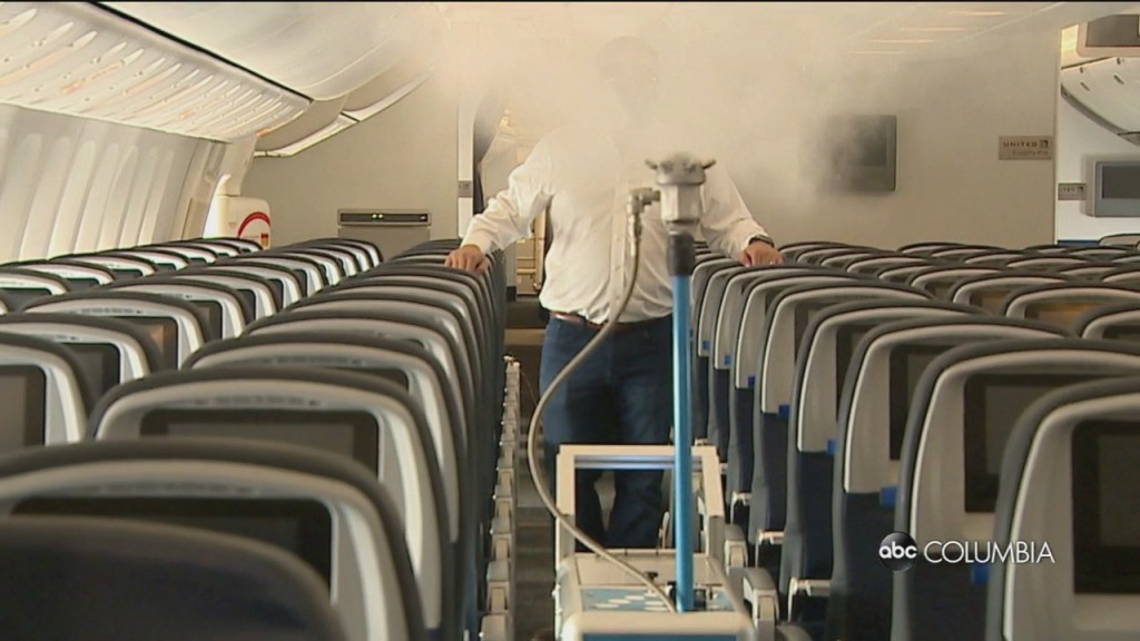 Airline Cleaning Tech