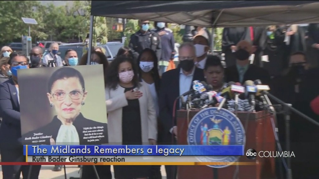 Midlands Remembers Ginsburg