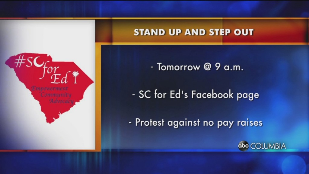 Sc For Ed Protest
