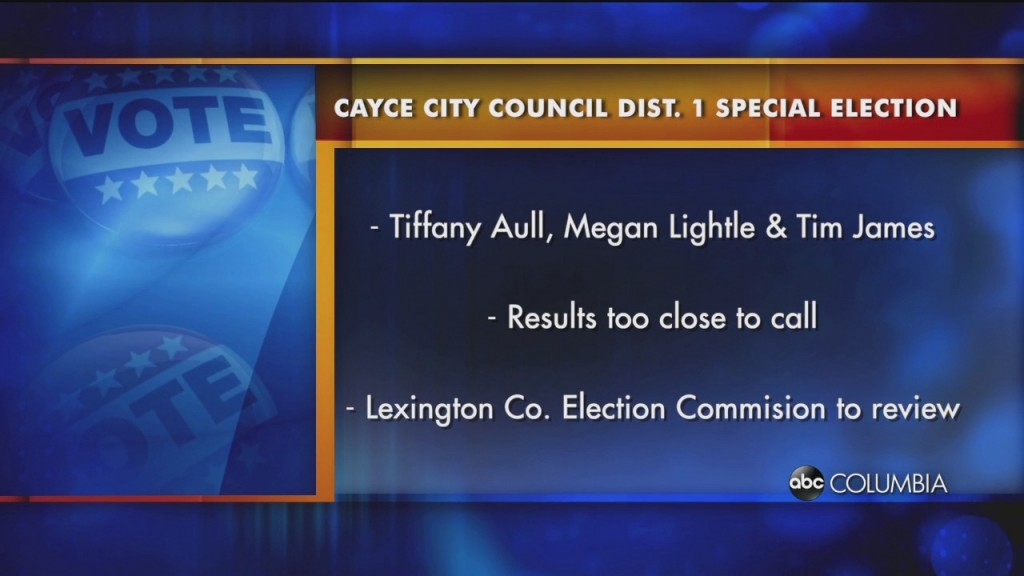 Cayce Dist 1 Election