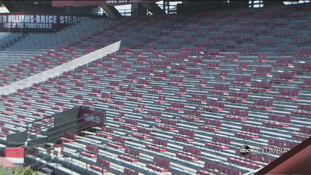 Williams Brice Covid Precautions