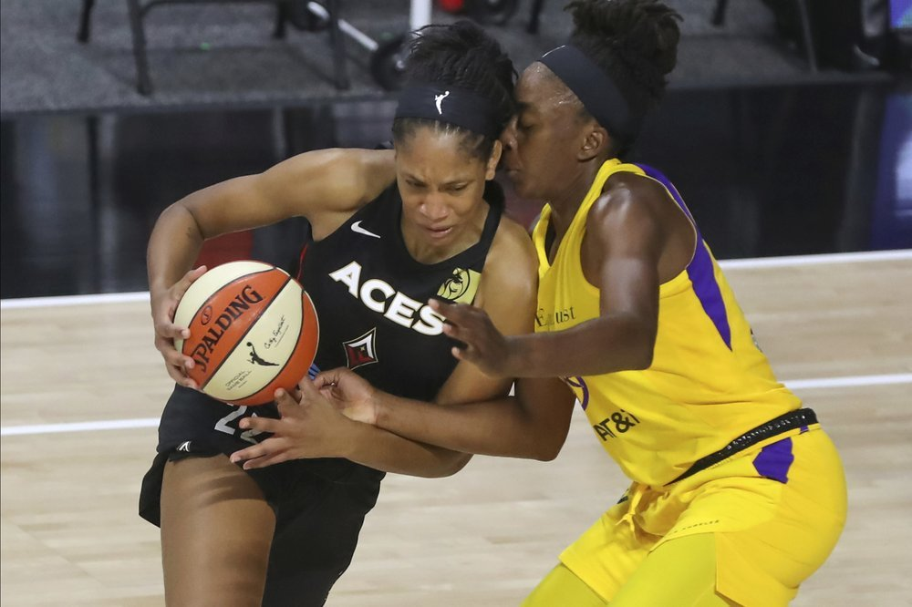Aja Wilson Named Ap Player Of The Year