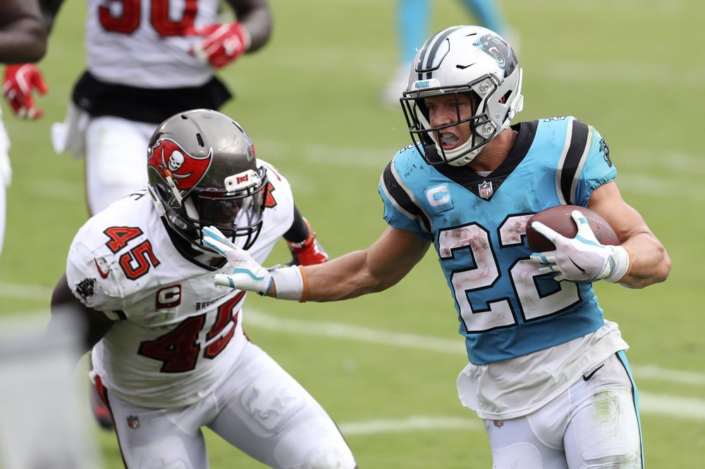 Christian Mccaffrey Out 4 6 Weeks With Ankle Sprain