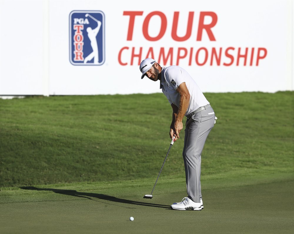 Dustin Johnson Tour Championship Third Round
